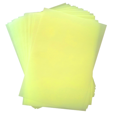 yellow-coloured-wafer-paper