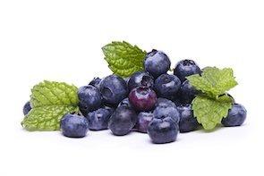 tasty blueberries